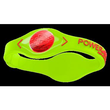 Салатовый Power Balance с красной голограммой
