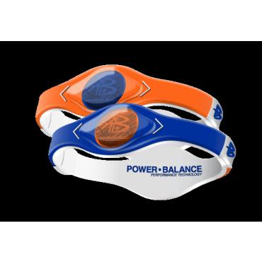 Оранжево-синий Power Balance с двухцветной голограммой