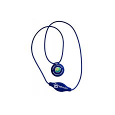 Power Balance Silicone Necklace-Blue