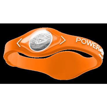Оранжевый Power Balance с белой надписью