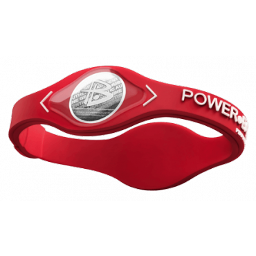 Красный Power Balance с белой надписью