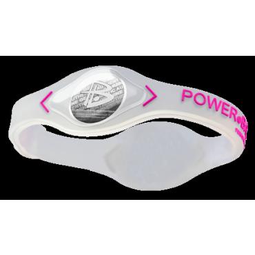Прозрачный Power Balance с розовой надписью