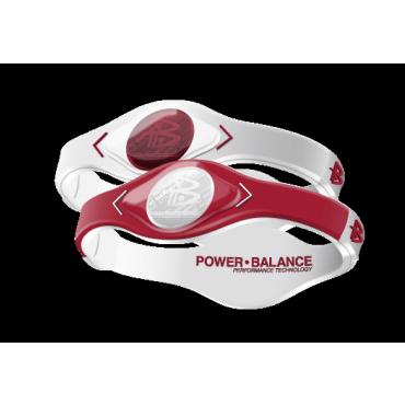 Красно-белый Power Balance с двухцветной голограммой