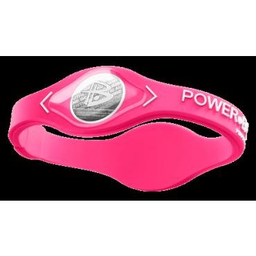 Розовый Power Balance с белой надписью