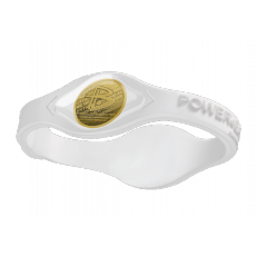 Power Balance Gold-White
