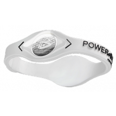 Power Balance Silver-Transp-Black