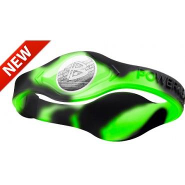 Зеленый Power Balance с чёрными вихрями