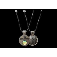 Power Balance Zink Pendant-Silver