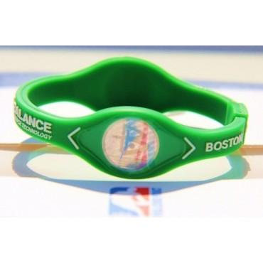 Зеленый спортивный браслет  Power Balance из серии «NBA»